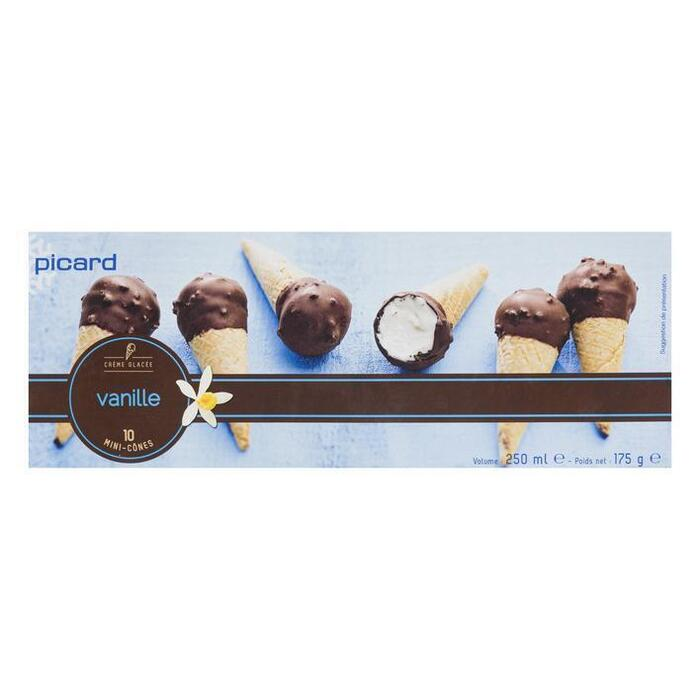 Picard Minihoorntjes vanille (10 × 175g)