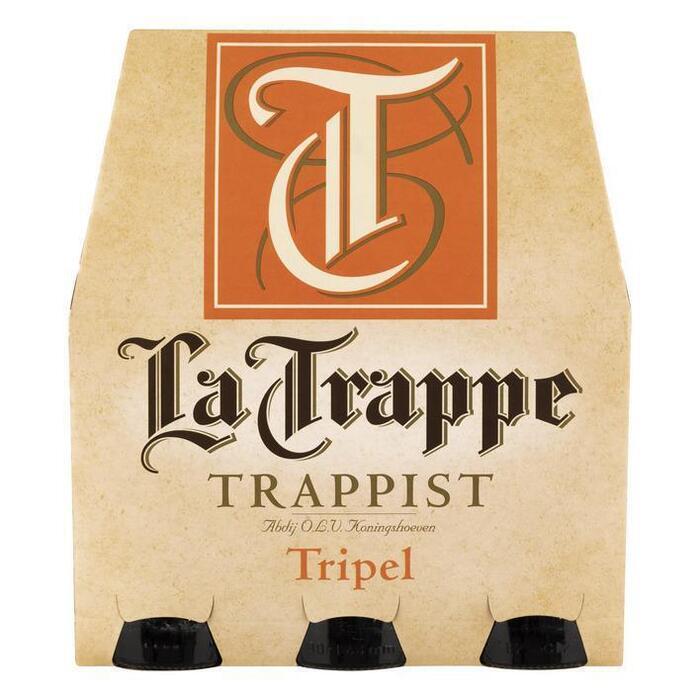 La Trappe Tripel Trappist (rol, 6 × 30cl)