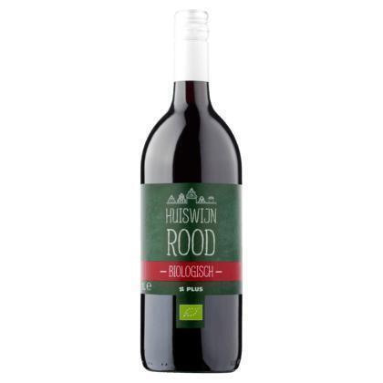 Huiswijn La Mancha Rood biologisch (rol, 1L)
