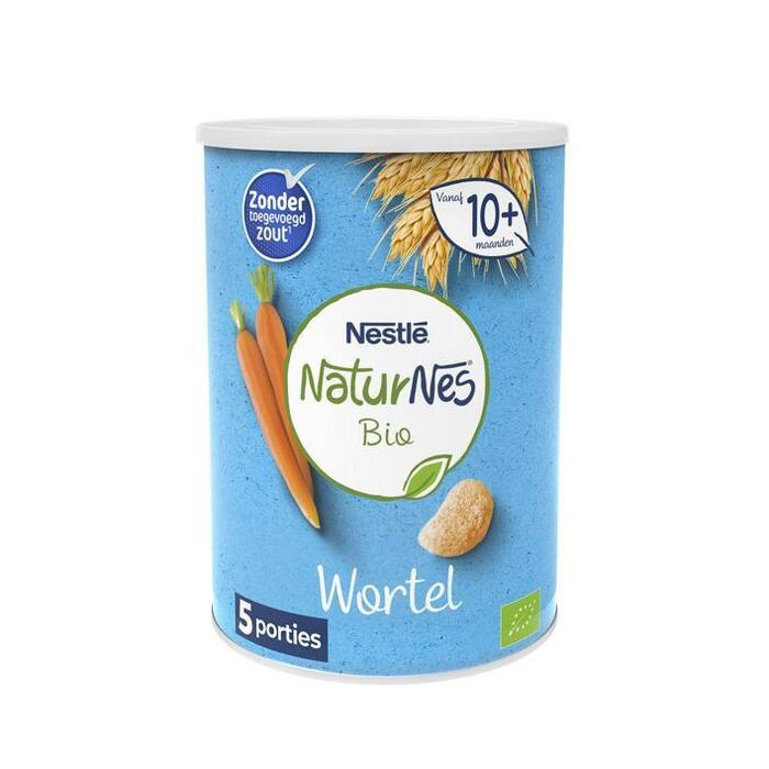 NaturNes® Bio Nutripops Wortel 10+ mnd baby tussendoortje biologisch (35g)