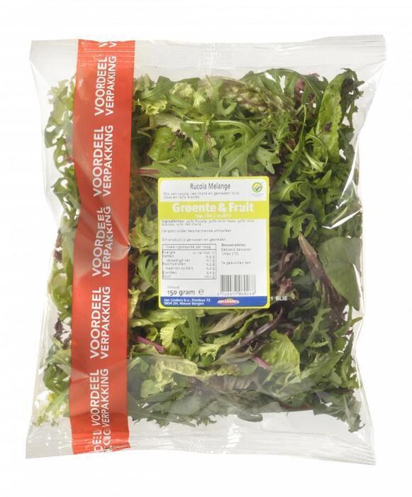 Rucola melange voordeelzak (150g)