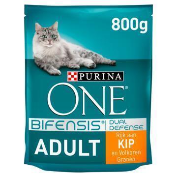 Purina ONE Bifensis Dual Defense Adult Kip 800 g (Stuk, 800g)