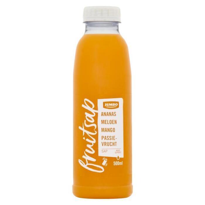 Jumbo Fruitsap Ananas Meloen Mango Passievrucht 500 ml (0.5L)