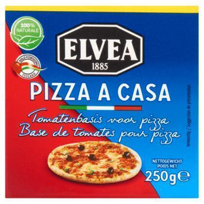 Elvea Pizza a Casa Tomatenbasis voor Pizza 250 g (250g)