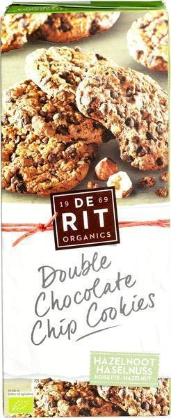 Double chocolate chip cookies hazelnoot (175g)
