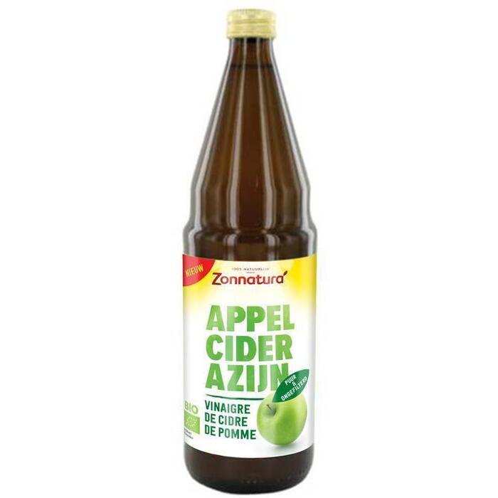 Zonnatura Apple cider vinegar bio (0.75L)