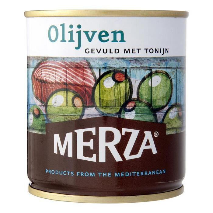 Merza Olijven gevuld met tonijn 200 gram (200g)