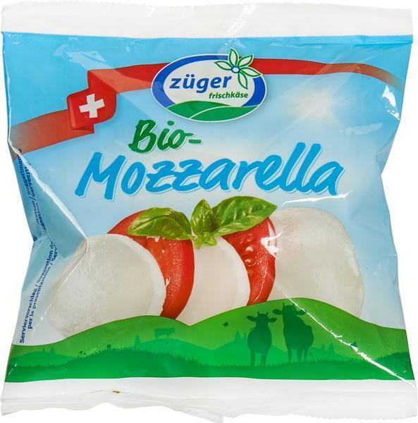 Bio-Mozzarrella (zak, 100g)