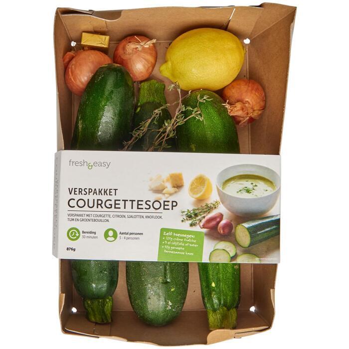 Fresh & Easy Verspakket Courgettesoep 876 GRM VERPAKT (876g)