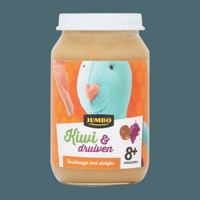 Jumbo Kiwi & Druiven 8+ Maanden 190g (190g)
