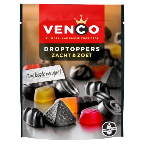 Venco Droptoppers Zacht Zoet 210 g (210g)