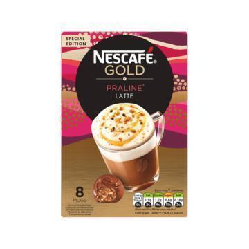 Nescafé Gold praliné (8 × 18g)