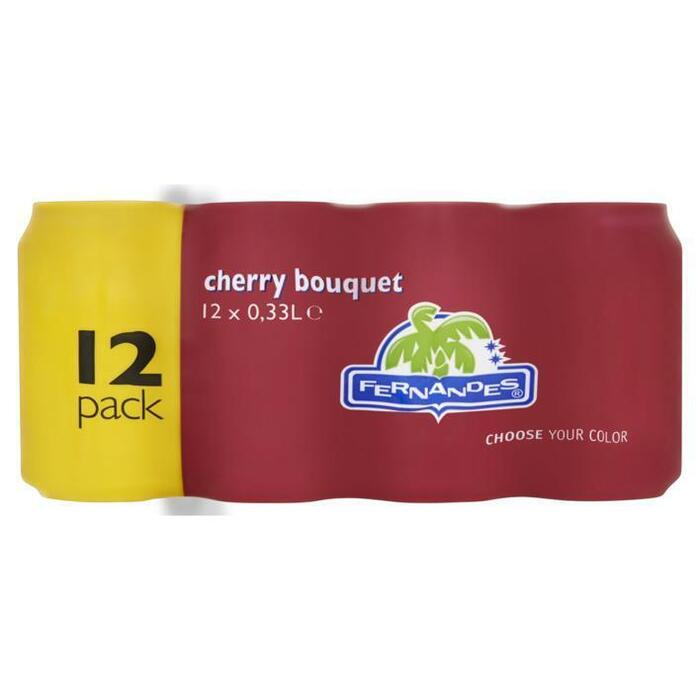 Fernandes Cherry bouqet (Stuk, 12 × 3.3ml)