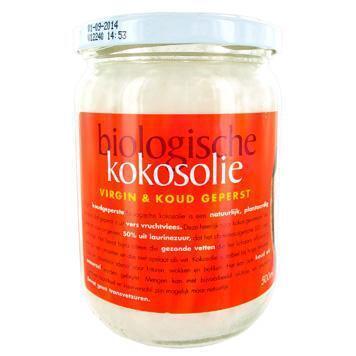 Kokosolie extra virgine biologisch (pot, 0.5L)