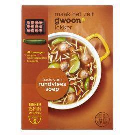 g'woon Rundvleessoep (83g)