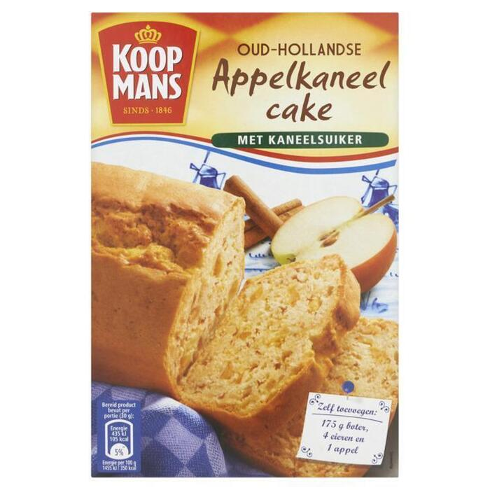 Mix voor Appelkaneelcake (Stuk, 400g)