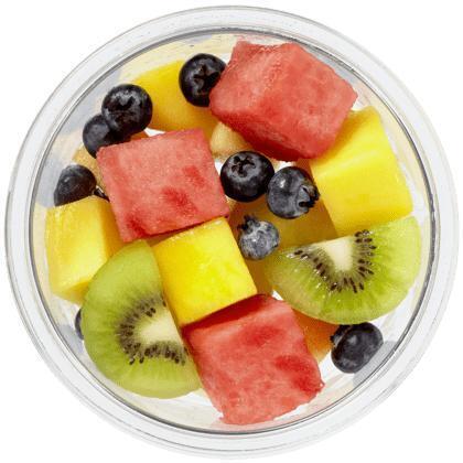 Vers gesneden fruitsalade tropisch (200g)