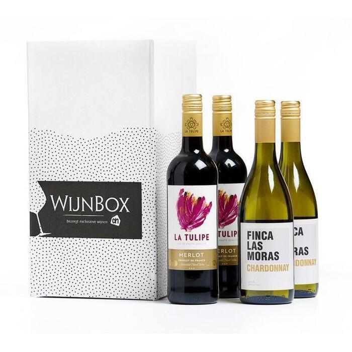AH Gourmet/BBQ wijnbox (4 × 0.75L)