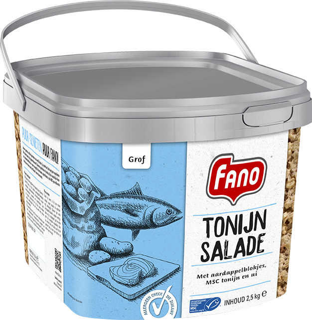 FANO SALADE TONIJN GROF (2.5kg)