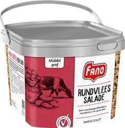 FANO RUNDVLEESSALADE MIDDEL GROF (2.5kg)