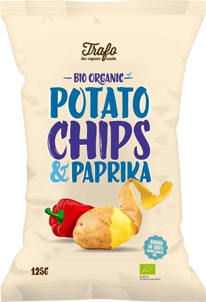 Potato chips paprika (zak, 125g)