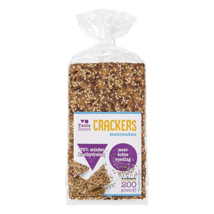 TastyBasics Crackers (8 × 200g)