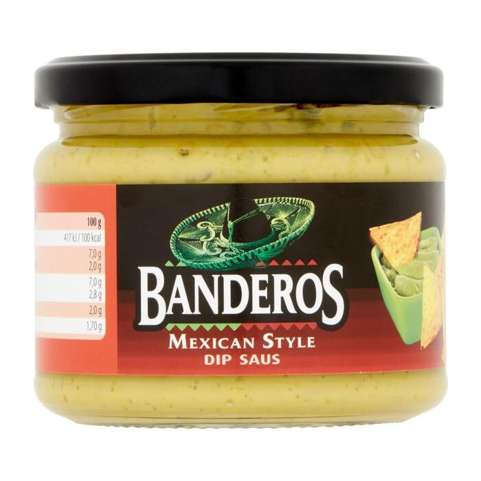 Bandero Mexican style dipsaus (300g)
