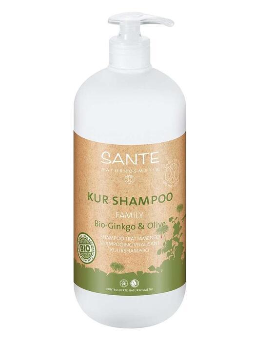 Family Kuurshampoo Bio-Ginkgo-Olijf SANTE 950ml (0.95L)