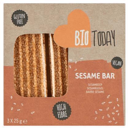 Bio Today Sesamrepen 3 x 25 g (Stuk, 75g)