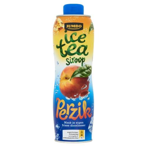 Jumbo Ice Tea Siroop Perzik 750 ml (0.75L)