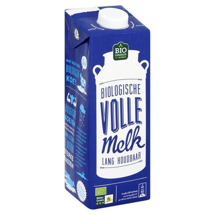 Biologische Volle Melk lang houdbaar (pak, 1) (1L)
