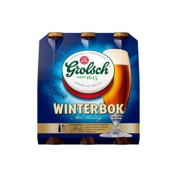 Grolsch Winterbok Fles 6 x 30 cl (fles, 6 × 30cl)