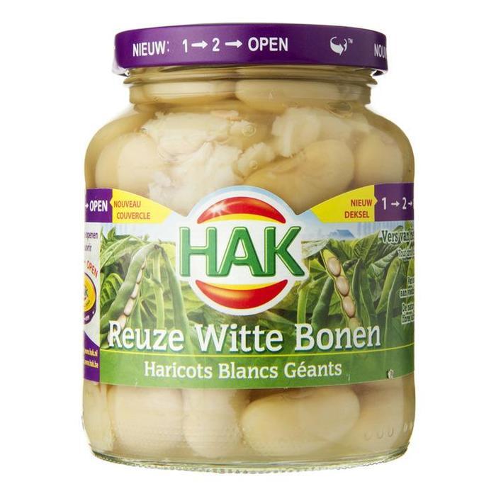 Reuze Witte Bonen (pot, 360g)