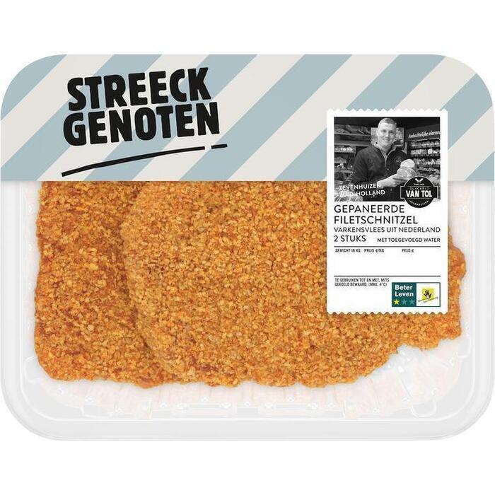 Streeckgenoten Gepaneerde schnitzel (270g)