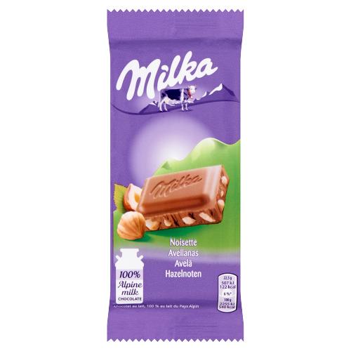 Milka Hazelnoten 45 g (45g)