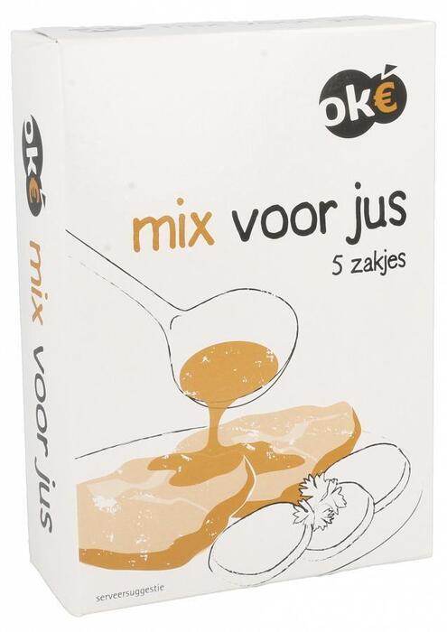 Mix voor jus (doos, 5 zakjes a 20g) (100g)