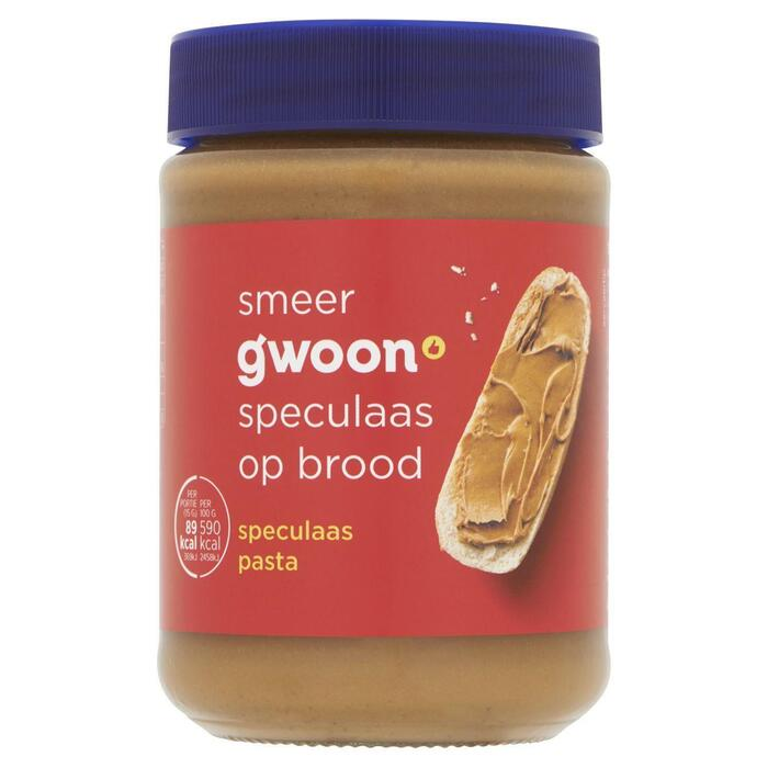 g'woon Speculaas pasta (400g)