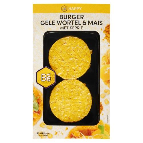 Burger Gele Wortel * Mais met Kerrie (80g)