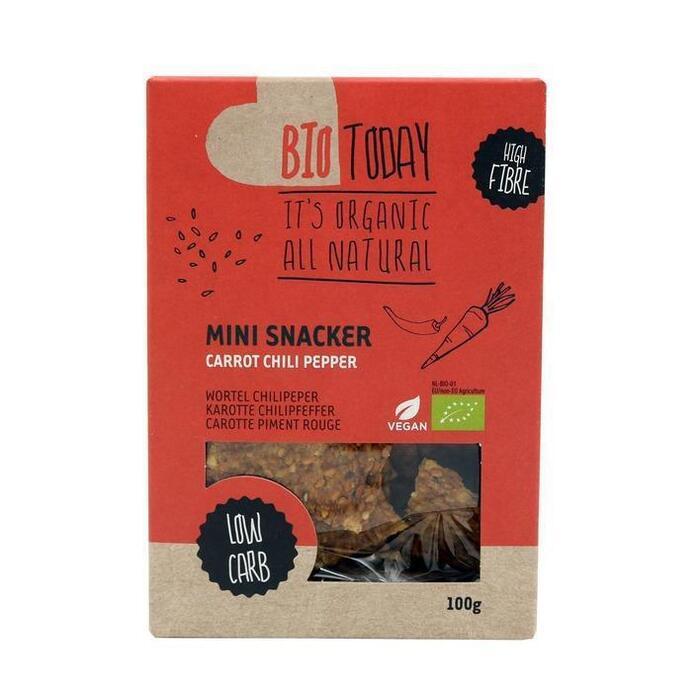 Bio Today Mini Snacker Wortel Chilipeper 100 g (100g)