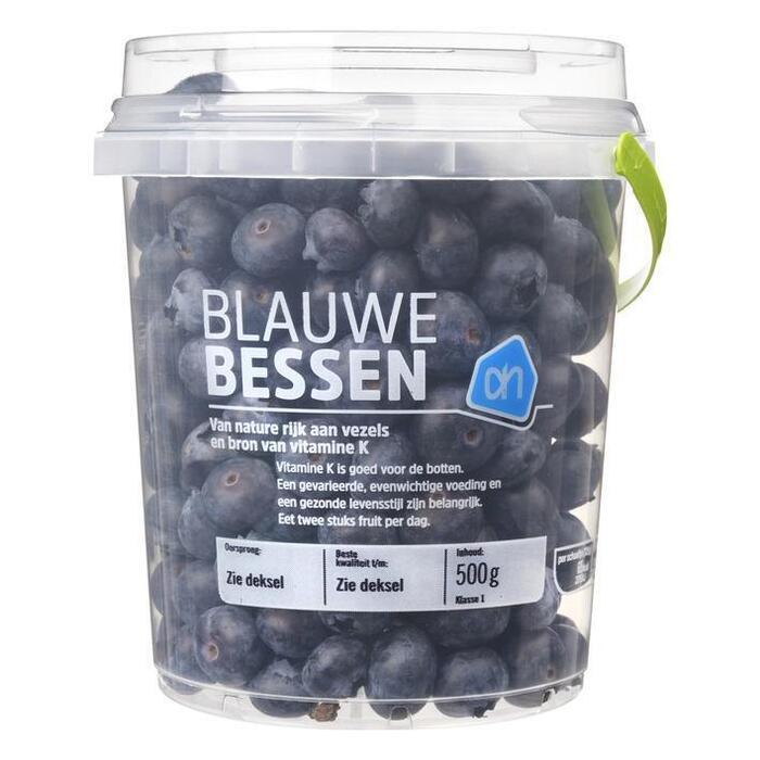 Blauwe Bessen (plastic emmer, 500g)