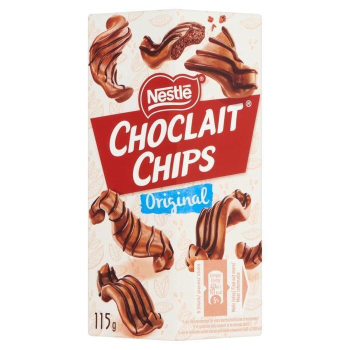 Choclait chips brown (115g)