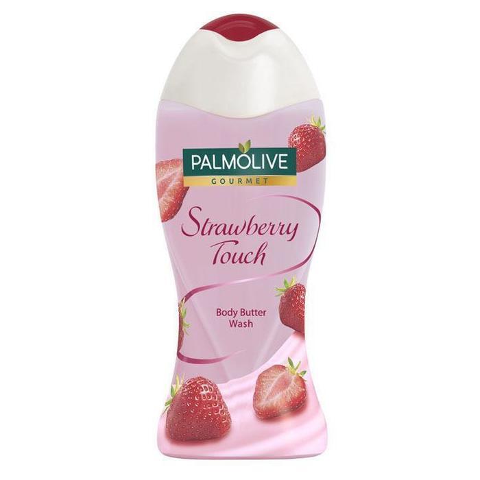 Palmolive Gourmet strawberry touch douchemelk (250ml)