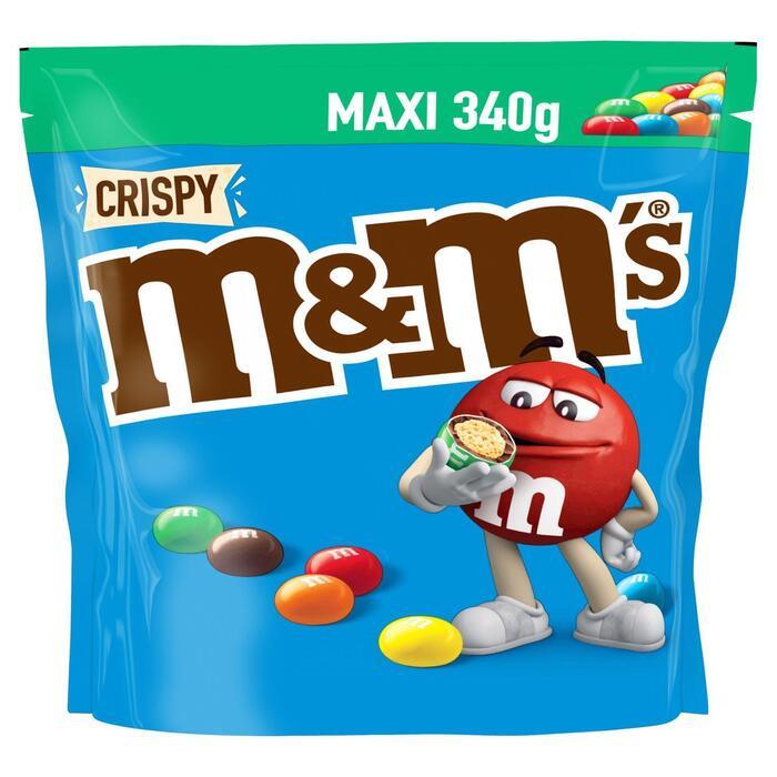 M&M'S Pouch crispy (340g)