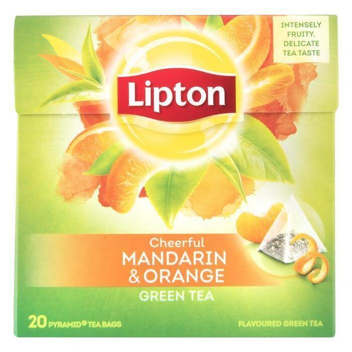 Groene thee mandarin orange (20 × 36g)