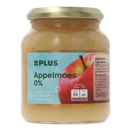 Appelmoes 0% suiker toegevoegd (360g)