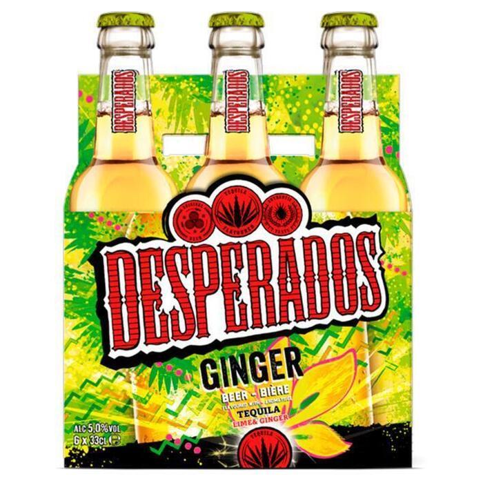Desperados Ginger (rol, 6 × 33cl)