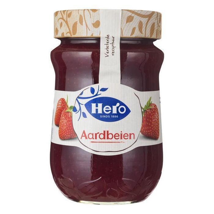 Extra jam aardbeien (600g)