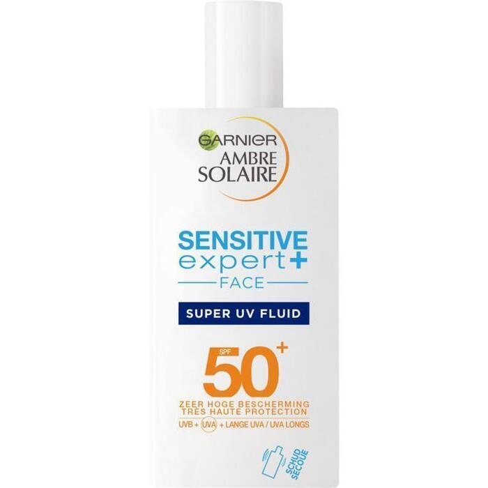 Ambre Solaire Sensitive shaka facefluid SPF50 (40ml)