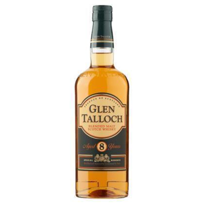 Glen Talloch Blended Malt Scotch Whisky 8 years 0,7 Liter (rol, 70 × 0.7L)