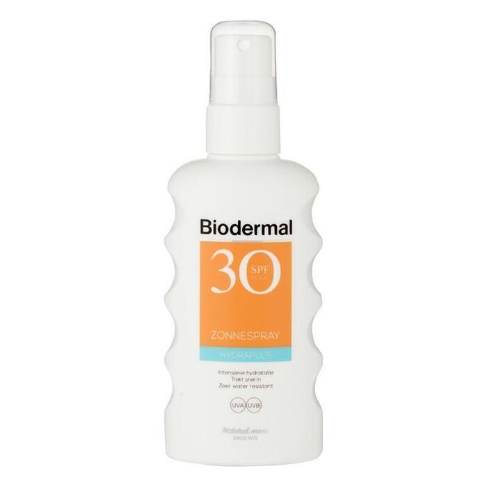 Biodermal Hydra plus zonnespray SPF30 (175ml)
